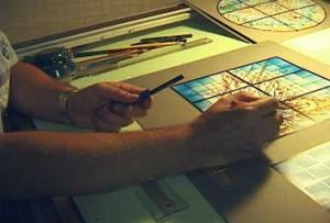 studio tour - coloring
