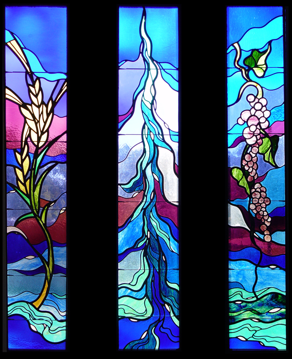 Modern Impressionistic Stained Glass 5