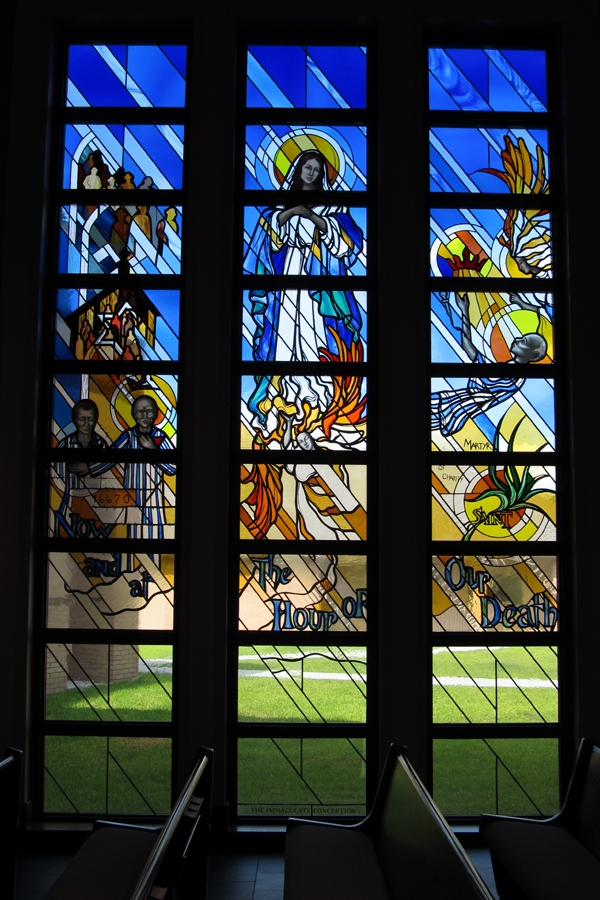 Modern Figurative Stained Glass 2