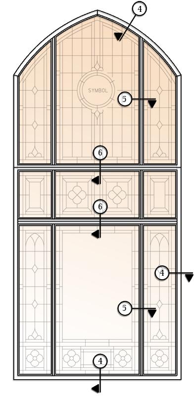 Aluminum Frames - 4in