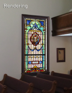 preview stained glass - rendering