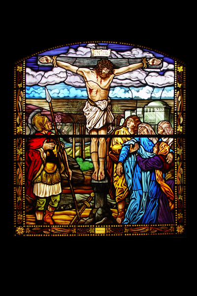 Classical Narrative Stained Glass 3