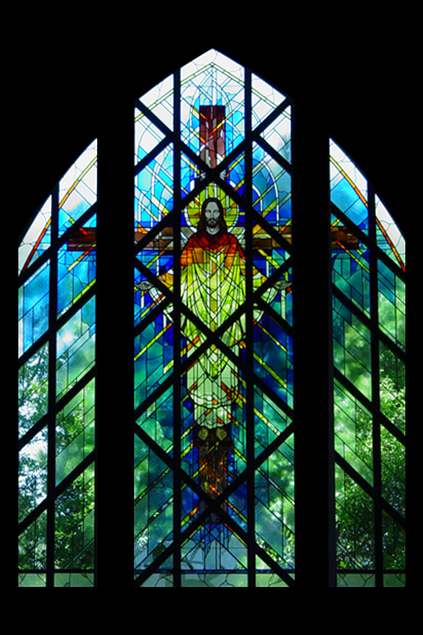 Modern Figurative Stained Glass 6