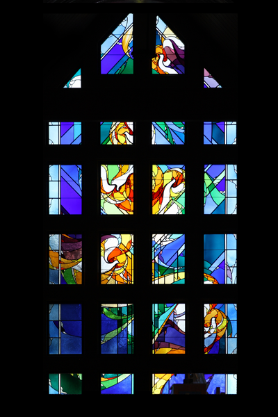 Modern Impressionistic Stained Glass 1