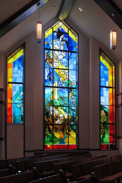 Modern Impressionistic Stained Glass 8
