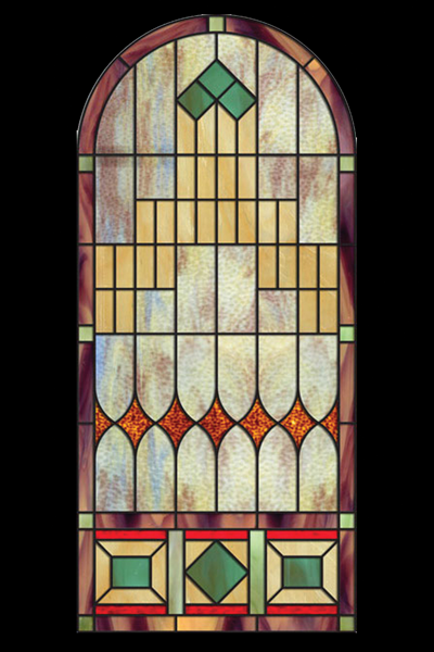 Classic Opalescent Stained Glass 4