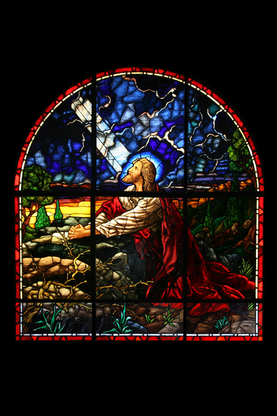 Classical Narrative Stained Glass 1