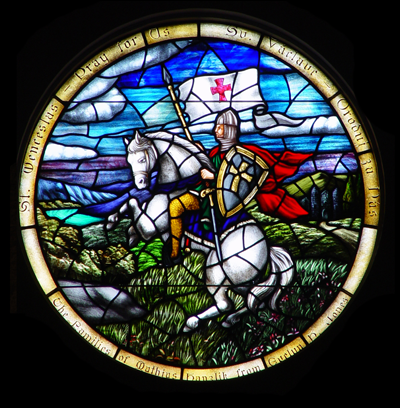 Classical Narrative Stained Glass 2