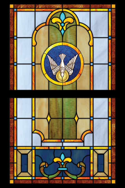 Classic Opalescent Stained Glass 2