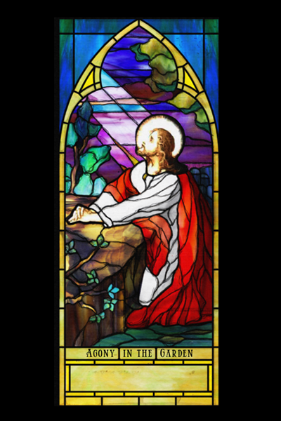 Figurative Opalescent Stained Glass 4