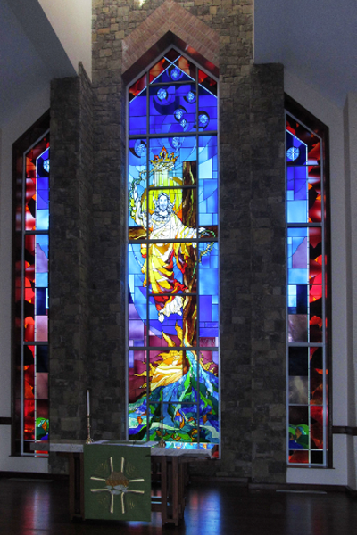 Modern Figurative Stained Glass 13