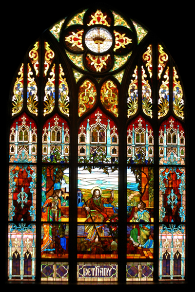 Figurative Opalescent Stained Glass 2