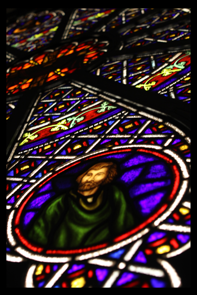 Intricate Hand-Painted Stained Glass 4
