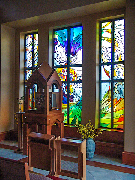 Modern Impressionistic Stained Glass 2
